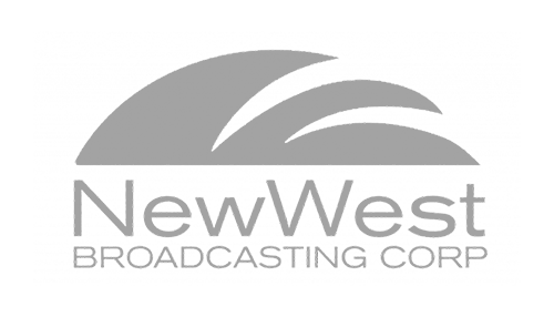 new west broadcasting logo