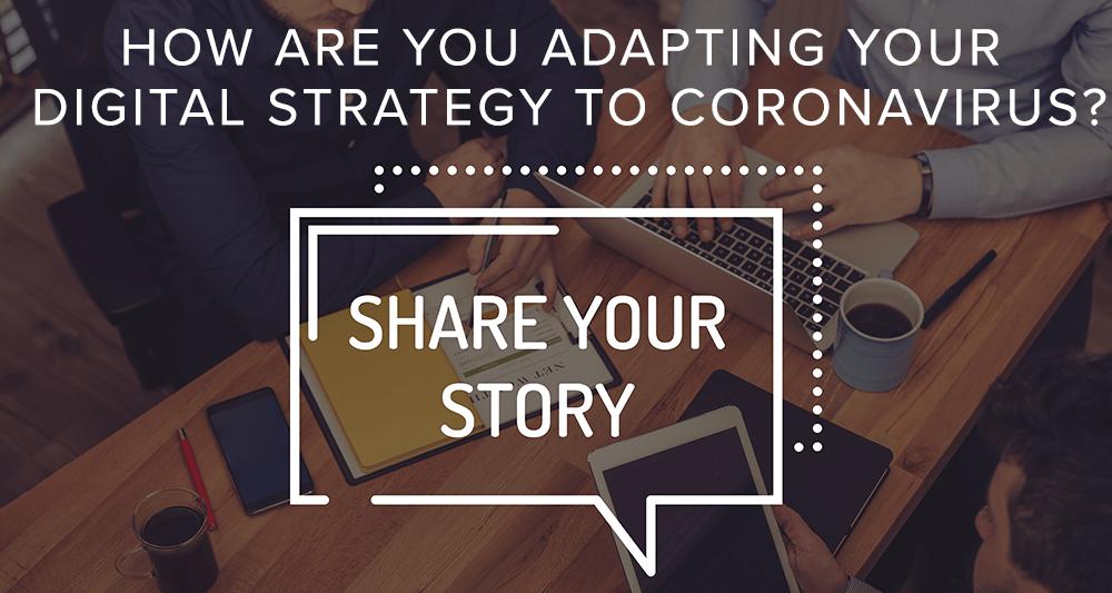 adapting digital strategy share