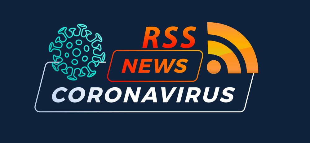 coronavirus rss feed banner