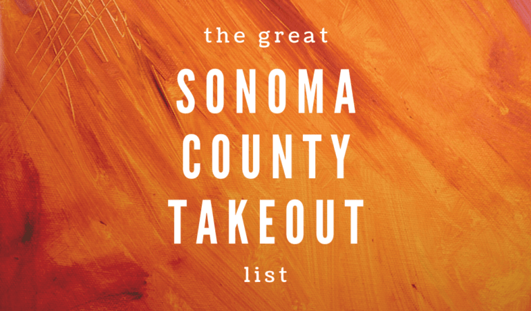 sonoma county takeout