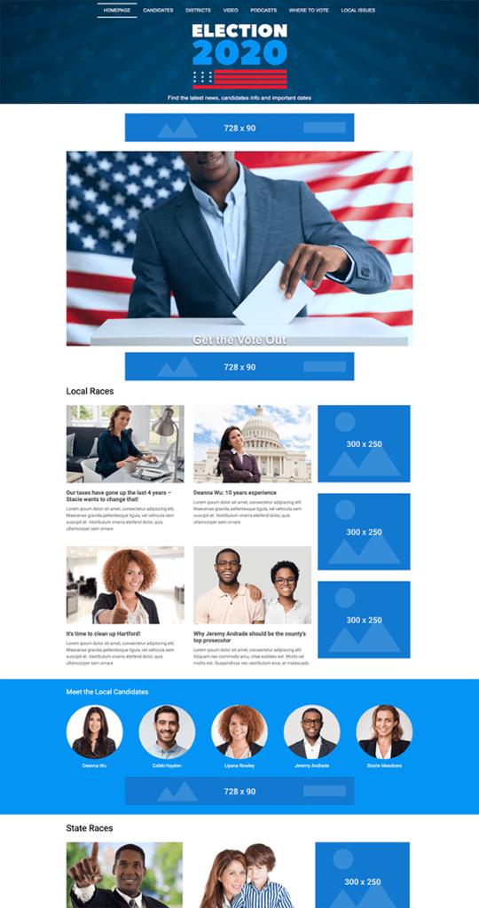 ITM Election Website