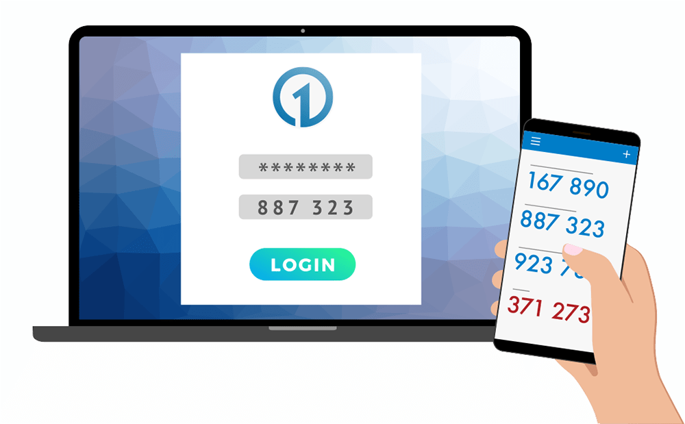 authenticator app logging into onecms