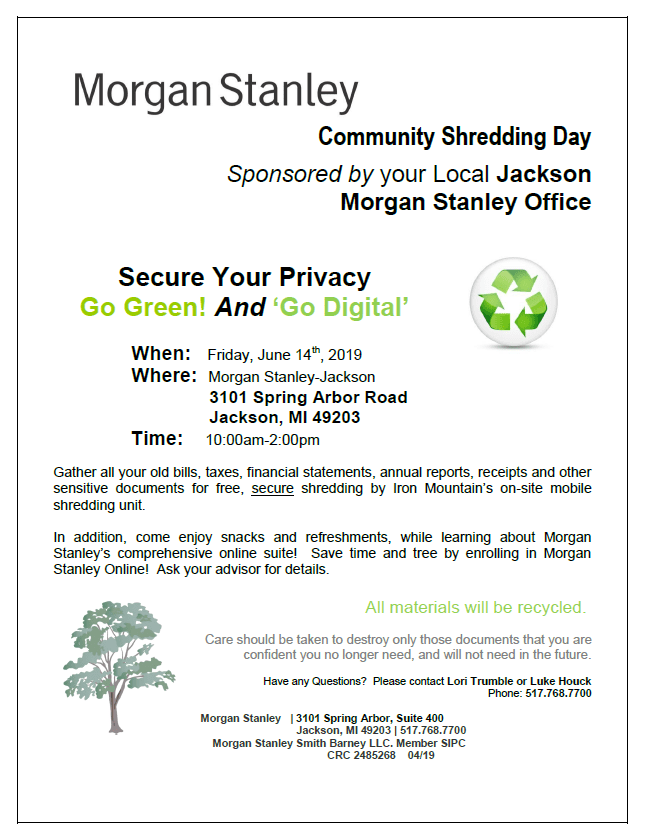 Community Shredding Day | K105 3