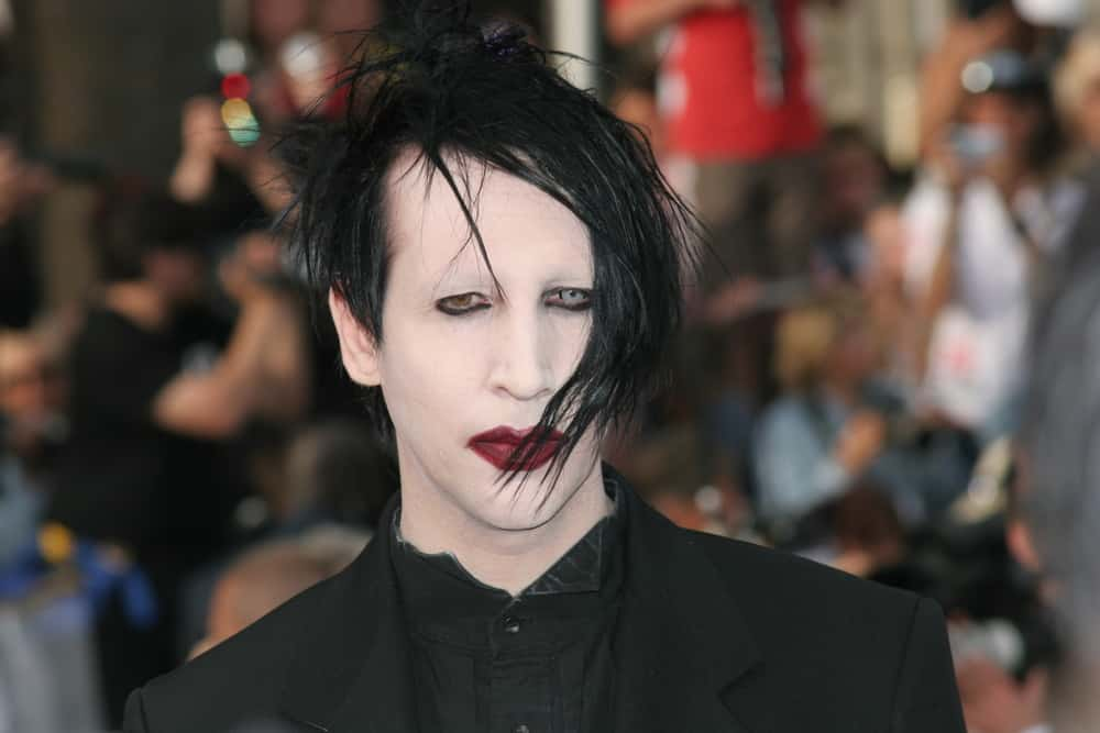 Image result for marilyn manson and howard stern 2017