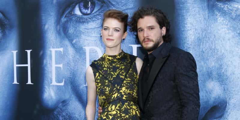 Game Of Thrones Stars Kit Harington Rose Leslie Get Married 951 Wayv