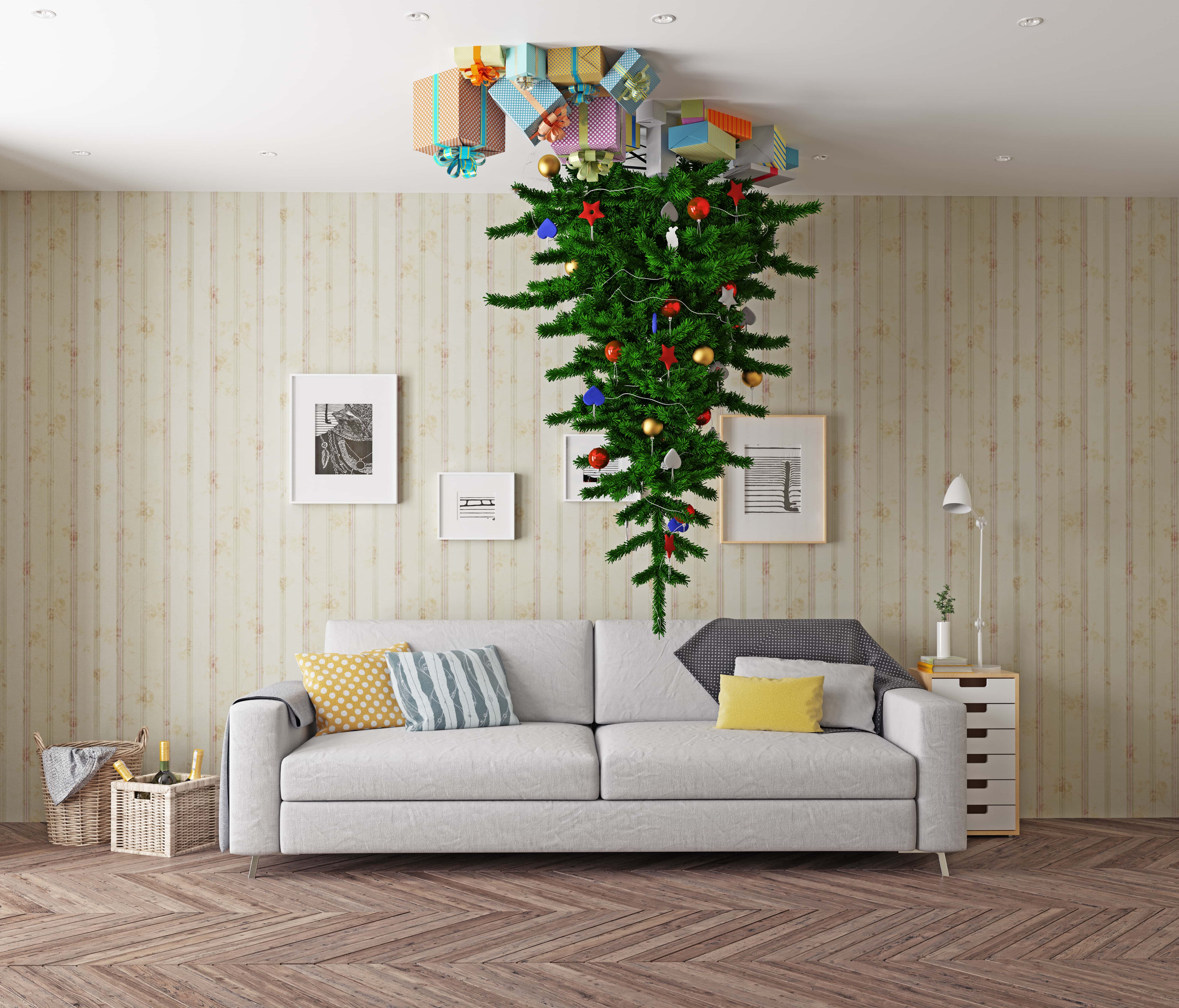 Upside-Down Christmas Trees Are Becoming a Big Trend This ...