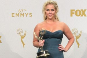 Amy Schumer Returns To Work After Hospitalization