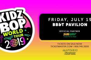 Kidz Bop @ BB&T Pavilion July 19th