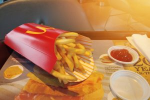 Wait . . . the McDonald's French Fry Box Has Had a Secret, Built-In Spot for Ketchup All These Years?