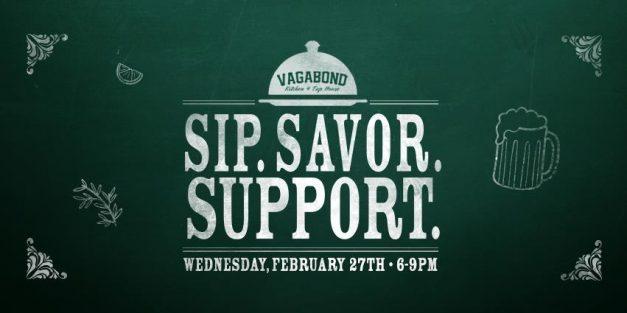 Sip, Savor, Support