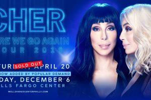 Cher @ Wells Fargo Center December 6th