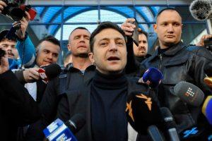 Ukraine Comedian Volodymyr Zelensky Wins Presidential Election In Landslide Victory