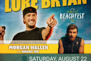 Luke Bryan @ AC Beach August 22nd