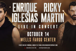 Enrique Iglesias and Ricky Martin @ WFC 10/14