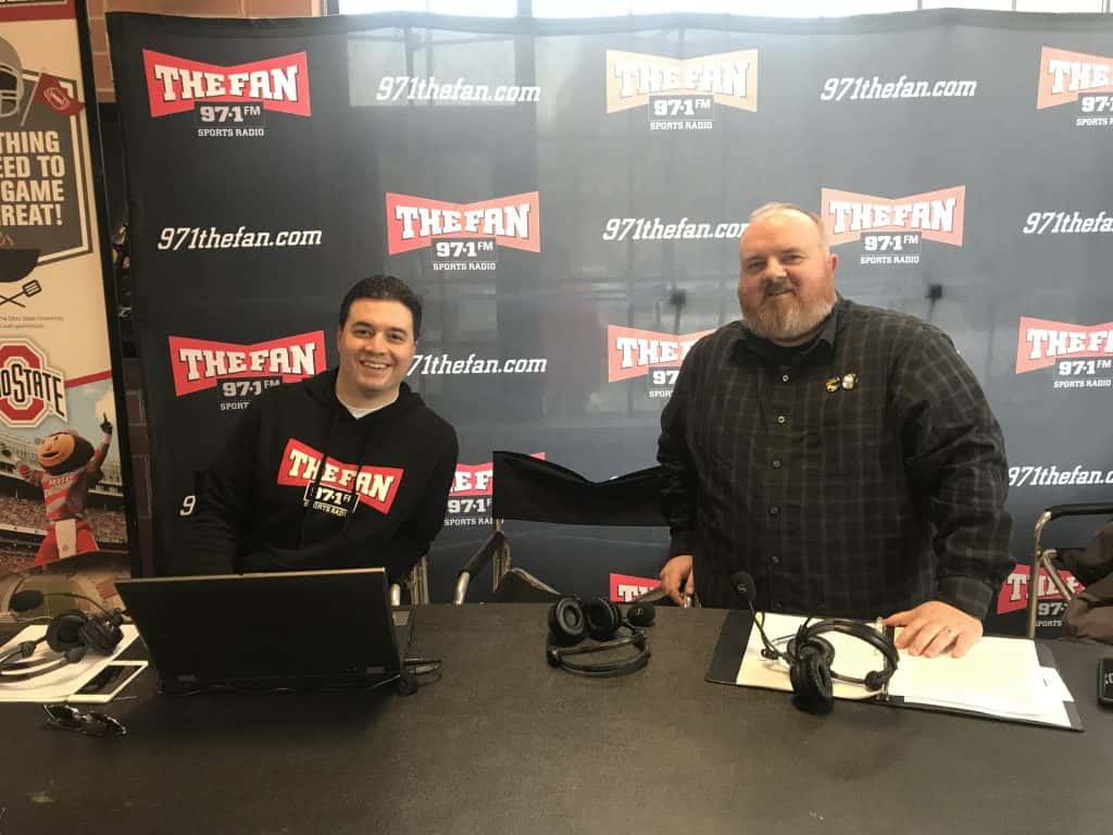 Common Man and T-Bone and Monster at Kroger Brewers Yard on November 23,  2018 | The Fan 97.1 FM
