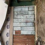 Josh Johnson's Garage Door: Nice doors weren't in the budget, needed the money for what's inside.