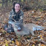 2020-Buck: Amanda Anderson - 9pt with Compound Bow