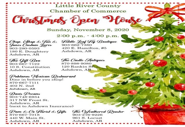 Little River County Christmas Open House Sunday | 103.9 The Pig