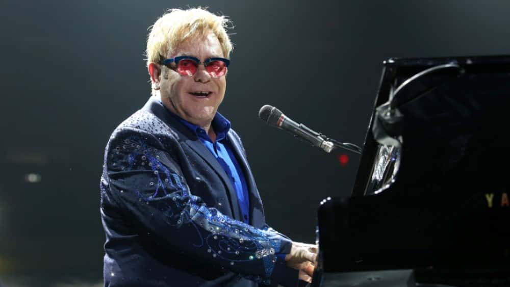 Elton John Looks Back At His Career In Touching Christmas Ad