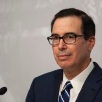 Treasury Secretary Of State Steven Mnuchin Defends Government's Fiscal Response To Pandemic