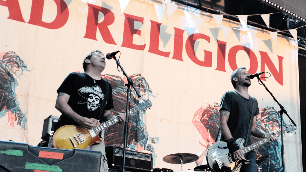 Bad Religion's New Song 'Emancipation of the Mind' debuts on Inauguration Day