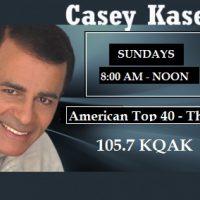American Top 40   KQAK 105 7
