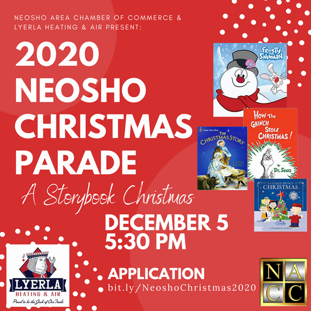 Neosho Christmas Parade 2020 2020 Neosho Christmas Parade | Rock 107.1 | The Rock Station