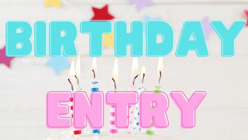 Birthday-Entry
