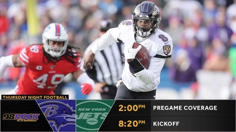 Ravens Gameday Vs New York Jets 98 Rock Baltimore Baltimore ravens vs jacksonville jaguars live stream. ravens gameday vs new york jets 98