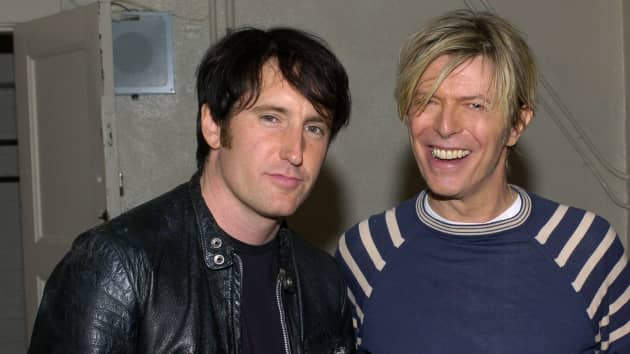 Trent Reznor Billy Corgan Gavin Rossdale More Performing During David Bowie Birthday Concert 98 Rock Baltimore