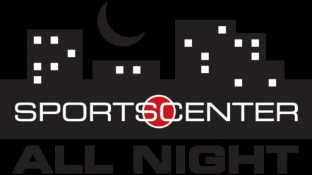 ESPN SportCenter All Night logo