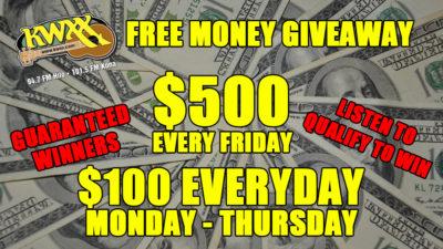 $500 fRIDAYS