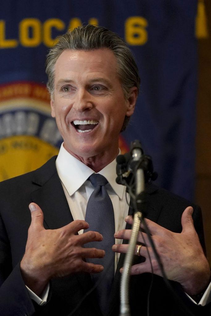 California Governor Gavin Newsom Beats Recall