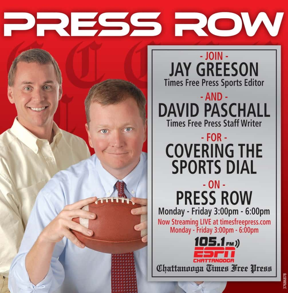 Image result for press row espn 105.1