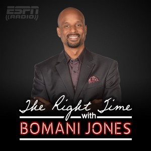 The Right Time with Bomani Jones - Logo