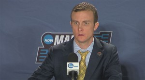 Matt McCall - Podium at NCAA Tournament