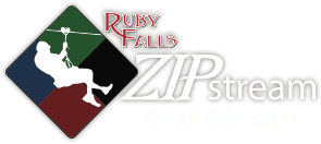Ruby Falls Sip Stream Aerial Adventure - Logo 1