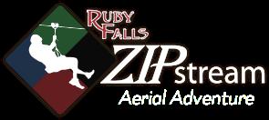 Ruby Falls Sip Stream Aerial Adventure - Logo 1