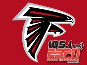 Atlanta Falcons High Def Red - ESPN 1051