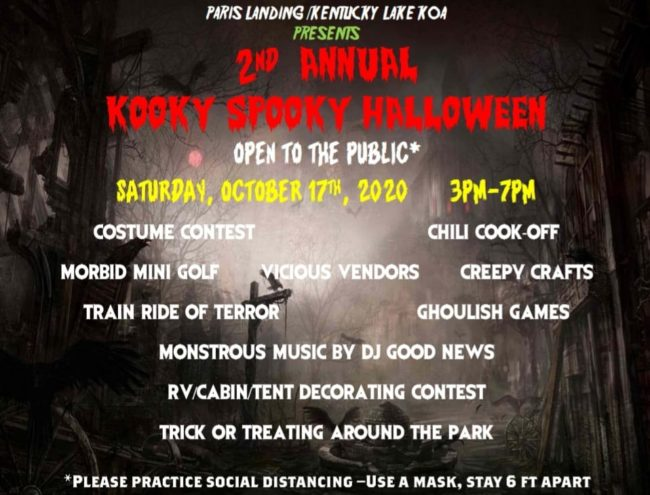 2020 Halloween Events In And Near Glasgow Ky KOA Campground To Host Spooky Halloween Event   radio NWTN