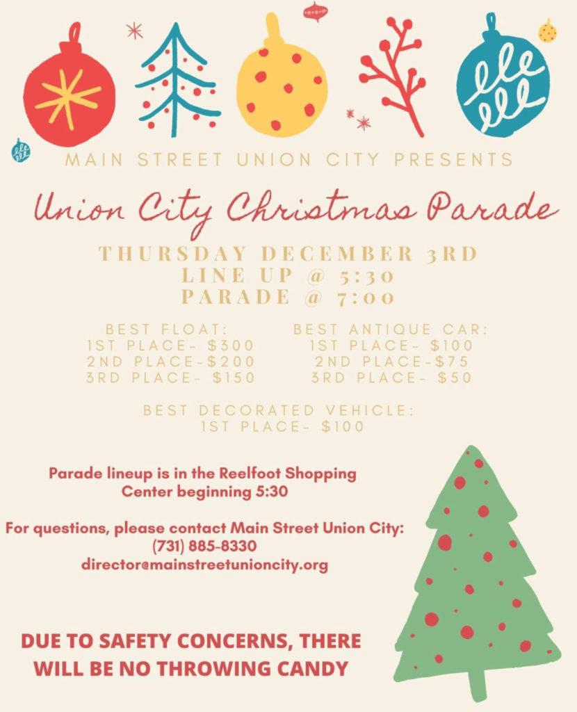 Glasgow Ky Christmas Parade 2021