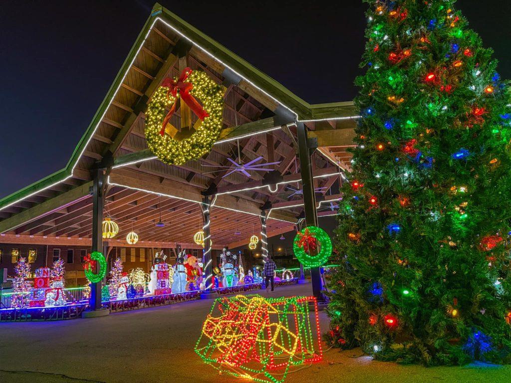 Christmas Lights Bowling Green Ky 2021 Nights Of Lights Drive Thru Opens In Martin Radio Nwtn
