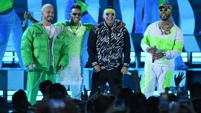 J Balvin, Ozuna, Daddy Yankee, Anuel AA