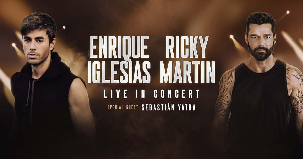 Enrique Iglesias & Ricky Martin Live in concert