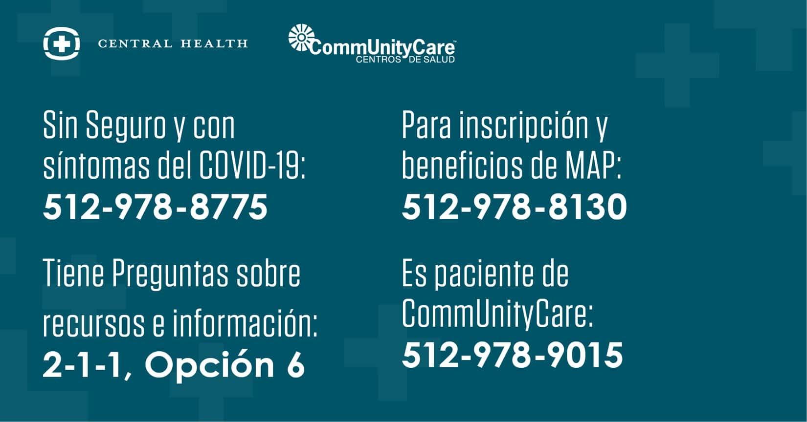Central Health Informacion