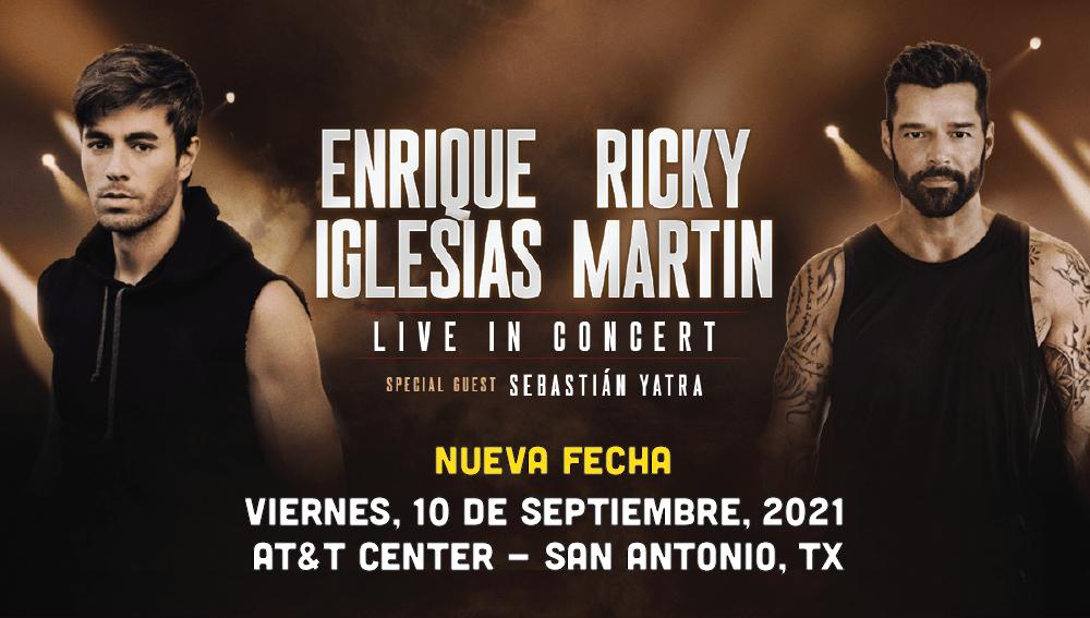 Enrique Iglesia y Ricky Martin Nueva Fecha