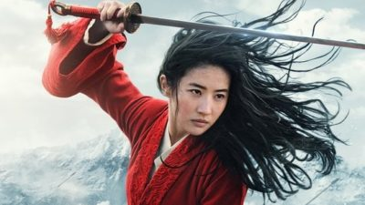 Liu Yifei as Mulan in Disney+ Poster