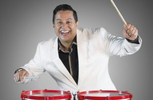 Tito Puente Jr. Playing the timbales