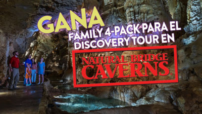 Gana Family 4Pack Para El Discovery Tour at Natural Bridge Caverns