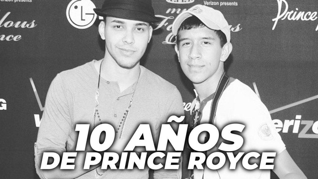 10 años de Prince Royce